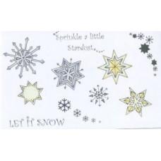 Umount Snowflakes Rubber Die Set