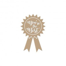 Spellbinders Glimmer Hot Foil Plate You're the Best
