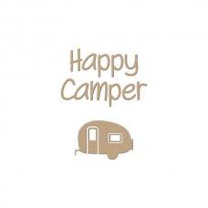 Spellbinders Glimmer Hot Foil Plate Happy Camper