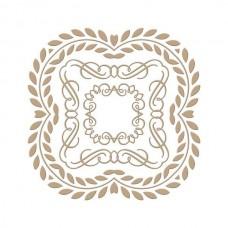 Spellbinders Glimmer Hot Foil Plate Elegant Square