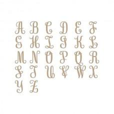 Spellbinders Glimmer Hot Foil Plate Elegant Monograms