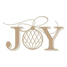 Spellbinders Glimmer Hot Foil Plate Joy
