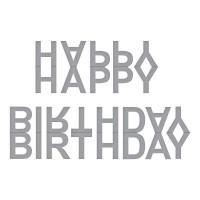 Spellbinders Die D-Lites Happy Birthday Banner - DISPATCHING TUESDAY 15th JANUARY