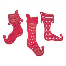 Spellbinders Die D-Lites Stocking Trio Set