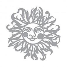 Spellbinders Die D-Lites - Sun Face Etched Dies
