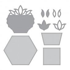 Spellbinders Shapeabilities Tulip Flower Box