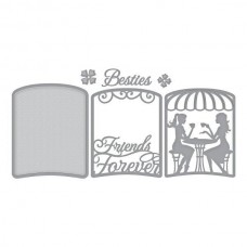 Spellbinders Layered Friends Forever Caf