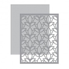 Spellbinders Card Creator A2 Tulip Flower Frame