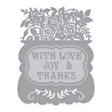 Spellbinders Shapeabilities - With Love Etched Dies