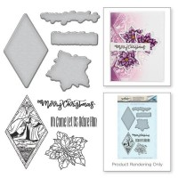 Spellbinders Stamp & Die Template Set Nativity - DISPATCHING THURSDAY 27th SEPT