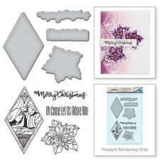 Spellbinders Stamp & Die Template Set Nativity