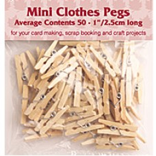 Woodware Mini Mini Pegs
