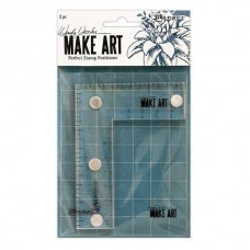 Ranger Wendy Vecchi - Make Art Perfect Stamp Positioner Set - PRE ORDER 5 - 7 DAYS