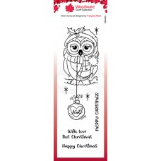 Woodware Clear Singles - Bauble Owl