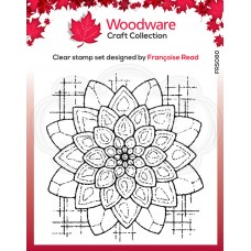 Woodware Clear Singles Stamp - Blossom
