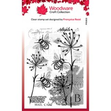 Woodware Clear Stamp - Three Bees