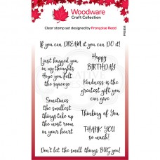 Woodware Clear Stamp - Kindness