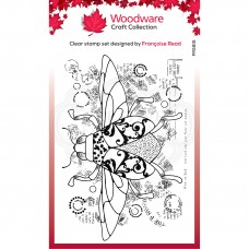 Woodware Clear Stamp - Dancing Beetle