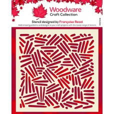 Woodware  Stencil - Cross Hatch