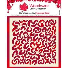 Woodware Stencil - Faux Leopard