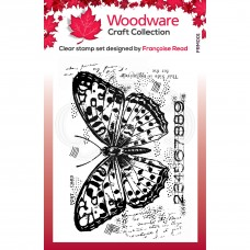 Woodware Clear Singles - Butterfly