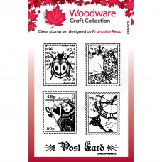 Woodware Clear Singles - Mini Postage