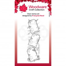 Woodware Clear Singles - Three Tags Stamp