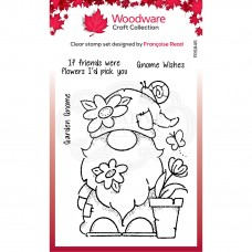 Woodware Clear Singles - Garden Gnome Stamp - ADVANCED ORDER - DISPATCHING FROM MONDAY 25th JANUARY