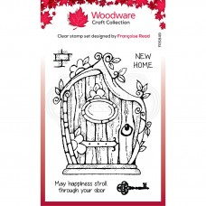Woodware Clear Singles - Fairy Door Stamp - DISPATCHING FROM 1st MARCH