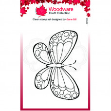 Woodware Clear Singles Mini Wings - Marbled White Stamp