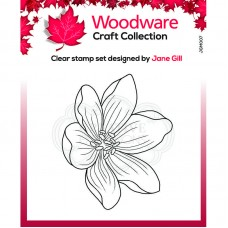 Woodware Clear Singles - Mini Garden Spray Stamp