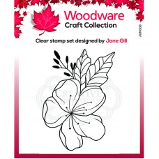 Woodware Clear Singles - Mini Floral Wonder Stamp