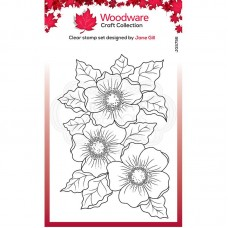 Woodware Clear Singles - Scented Blooms Stamp