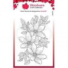 Woodware Clear Singles - Garden Spray Stamp