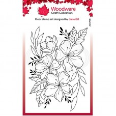 Woodware Clear Singles - Floral Wonder Stamp