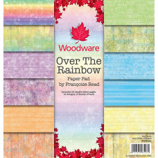 Woodware Paper Pad - Over The Rainbow