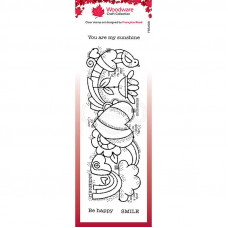 Woodware Clear Singles - Heart Border Stamp