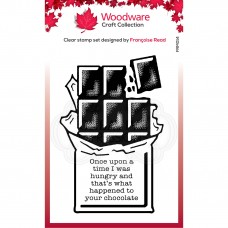Woodware Clear Stamp Set - Chocolate