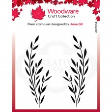 Woodware Clear Stamp Set - Bethany Leaf