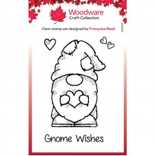 Woodware Clear Singles - Little Gnome Stamp