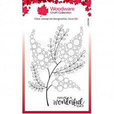 Woodware Clear Singles - Bubble Bloom Millie Stamp