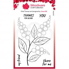 Woodware Clear Singles - Bubble Bloom Ellie Stamp