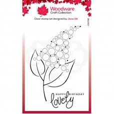 Woodware Clear Singles - Bubble Bloom Fizzie Stamp