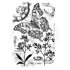 Woodware Clear Singles - Vintage Swallowtail