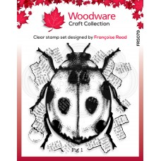 Woodware Clear Singles Stamp - Ladybird