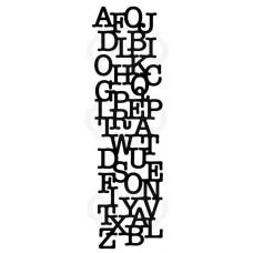 Woodware Stencil - Letter Mesh