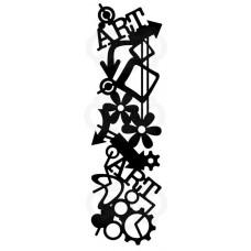 Woodware Stencil - Graffiti Mesh