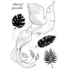 Woodware Clear Singles - Paradise Bird