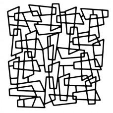 Woodware 6 x 6 Stencil - Metal Mesh