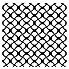 Woodware 6 x 6 Stencil - Scaly Mesh